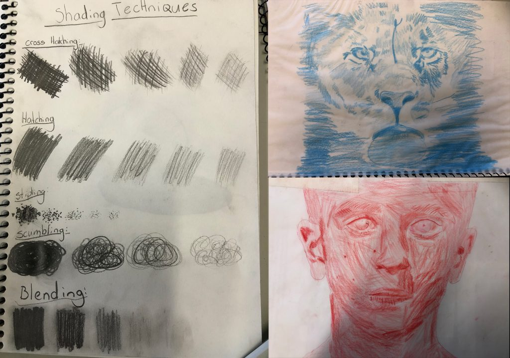 Year 6 Shading techniques