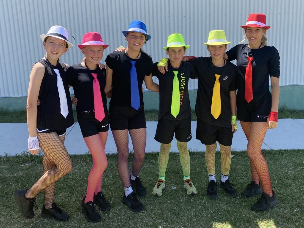 Year 8 PE students